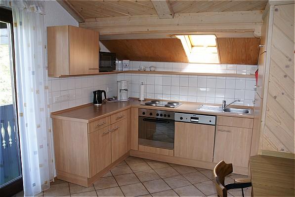 V p vakanties odenwald vakantiewoning - Ingerichte keuken ...
